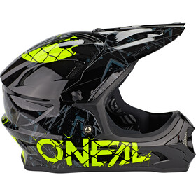 O'Neal Backflip Helm Zombie black/neon yellow